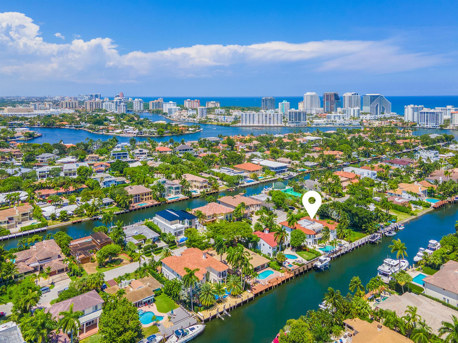 Photo of 2420 Sea Island Drive, Fort Lauderdale, FL 33301 (MLS # RX-10732381)