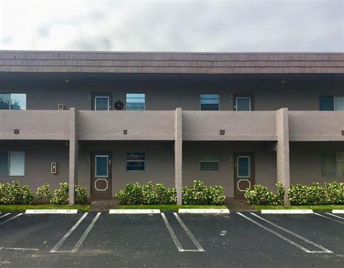 Foto de inmueble con direccion 2700 Casita Way #109 Delray Beach FL 33445 con MLS RX-10641382
