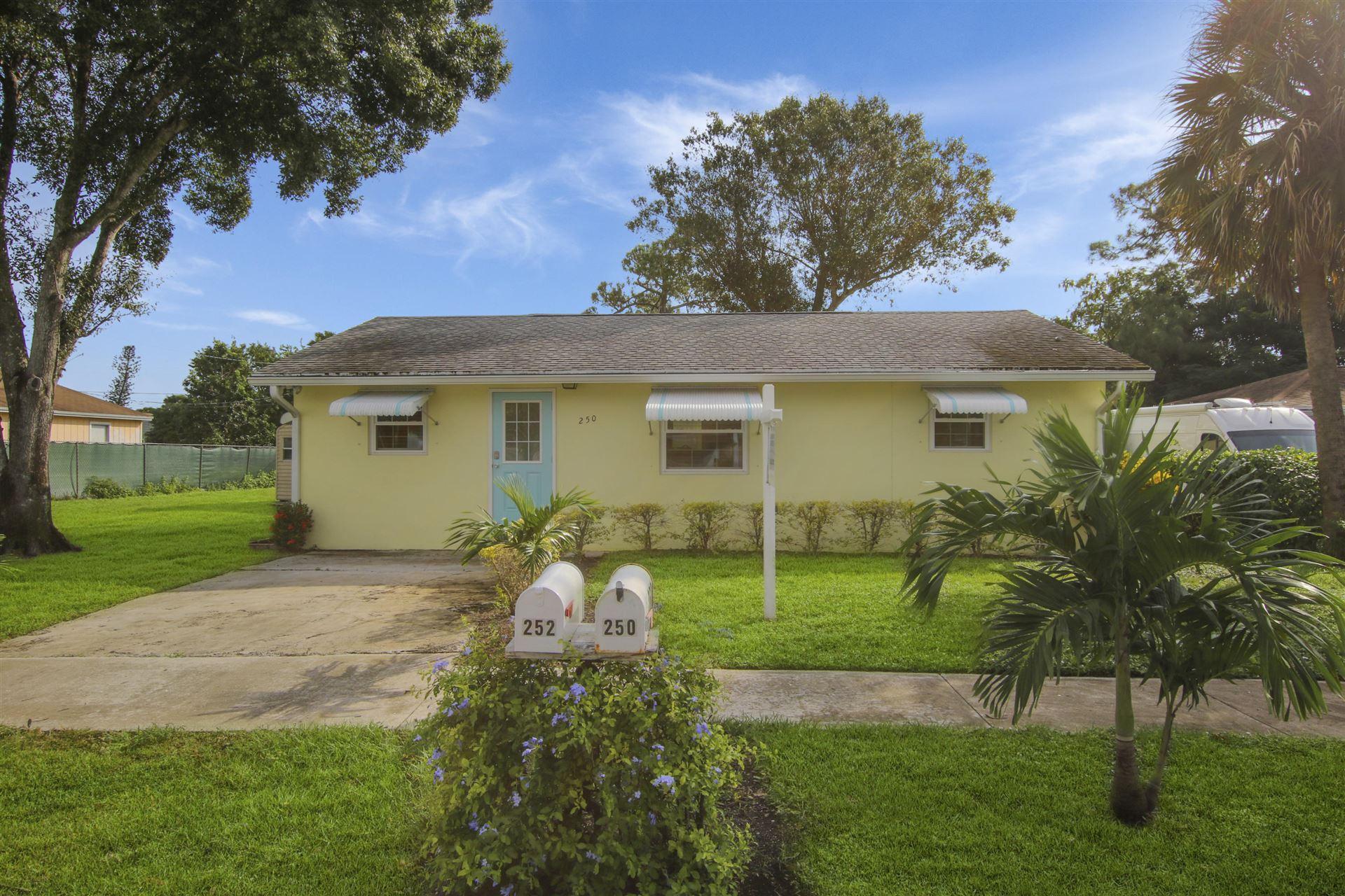 250 Perry Avenue, Greenacres, FL 33463 - #: RX-10671382