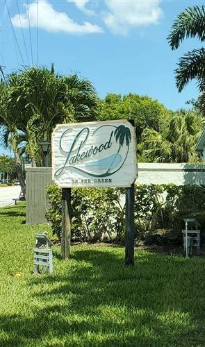 Photo of 5530 N Lakewood Circle N #724, Margate, FL 33063 (MLS # RX-10653384)