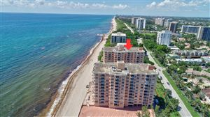 Photo of 4511 S Ocean Boulevard #606, Highland Beach, FL 33487 (MLS # RX-10532386)