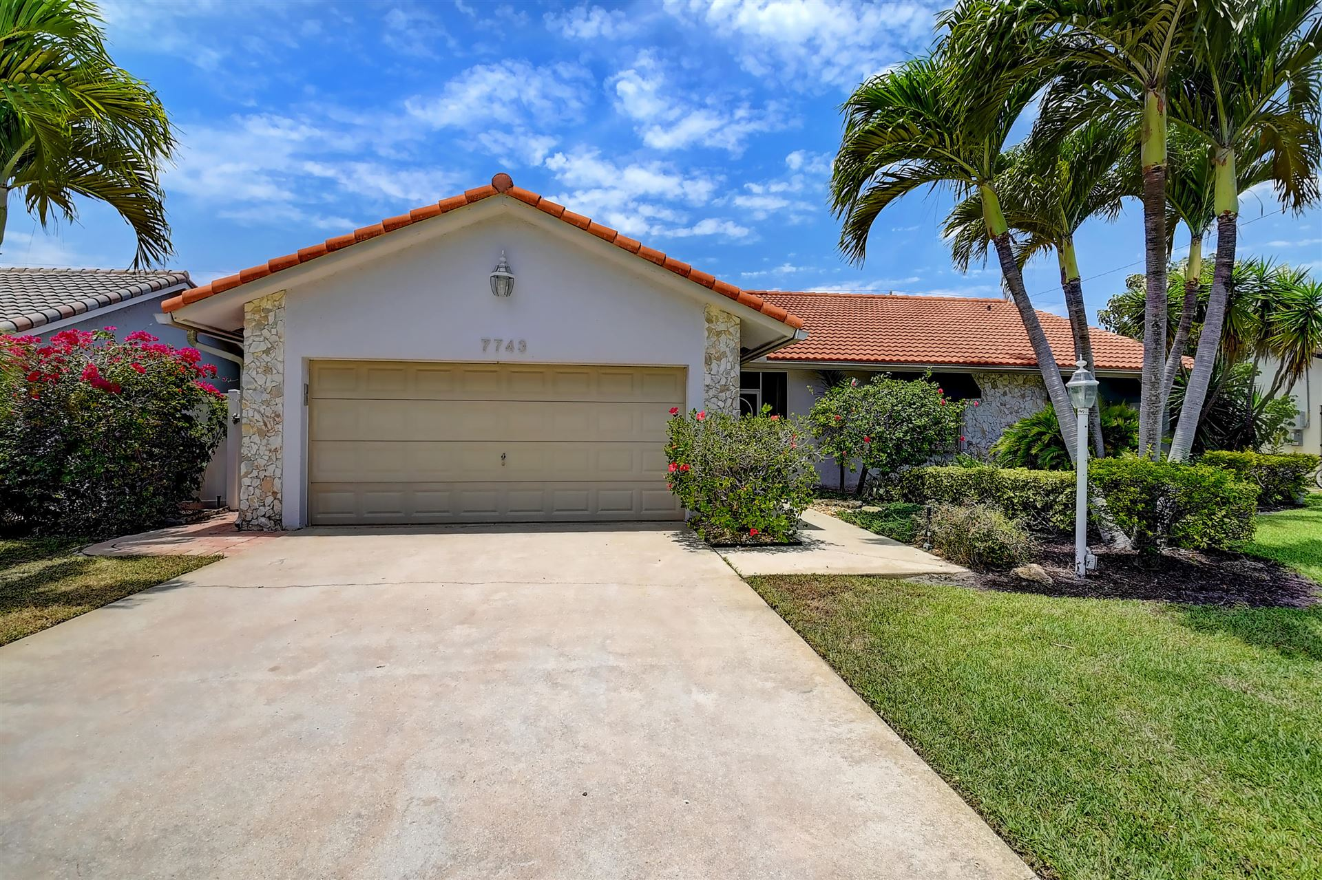 7743 W Country Club Boulevard, Boca Raton, FL 33487 - MLS#: RX-10720387