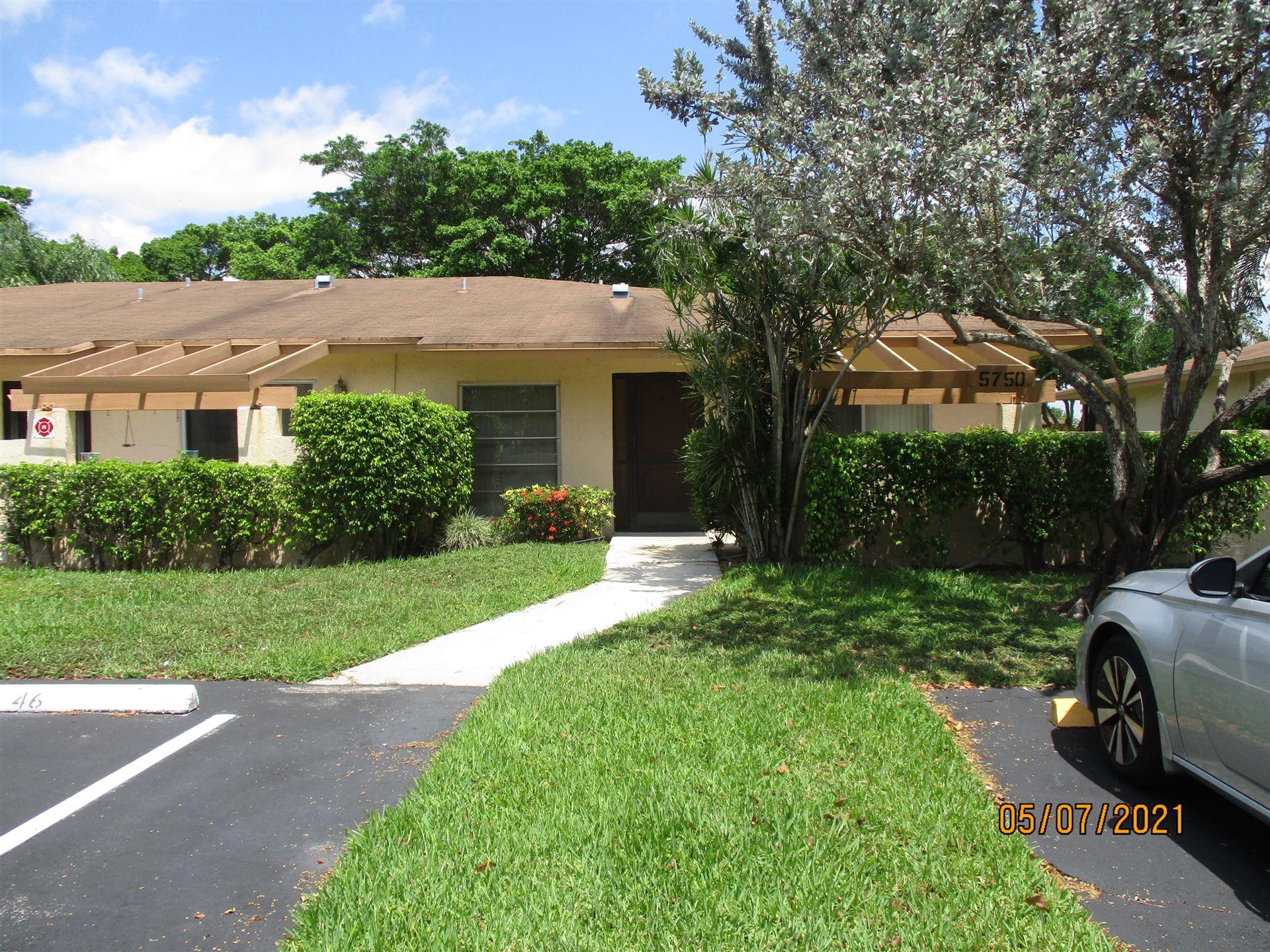 5750 Princess Palm Court #C, Delray Beach, FL 33484 - MLS#: RX-10714392