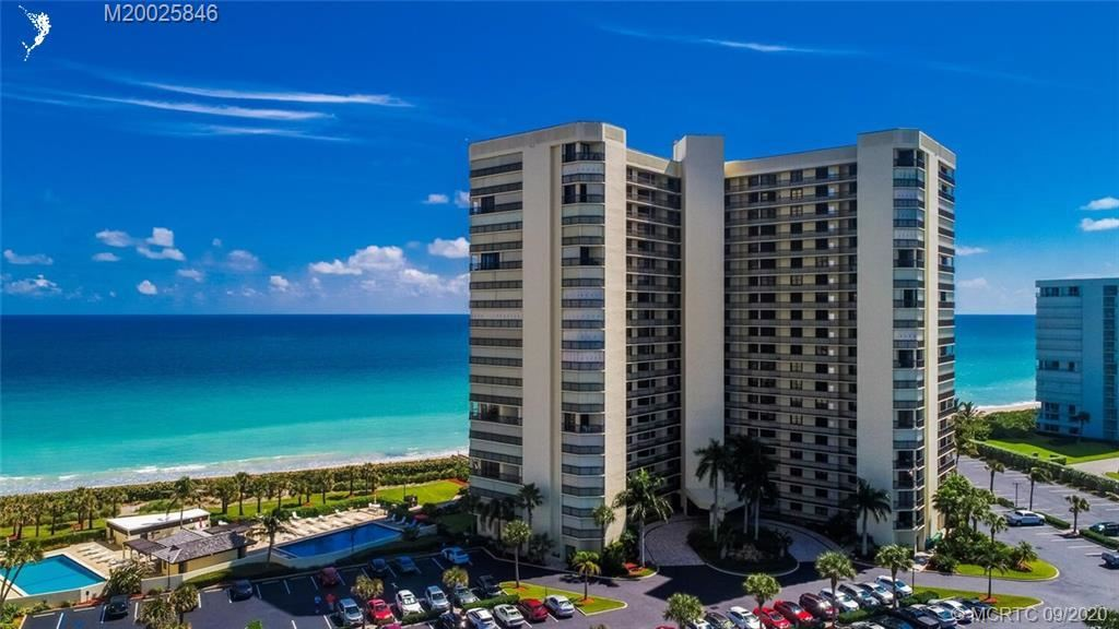 Photo of 9550 S Ocean Drive #206, Jensen Beach, FL 34957 (MLS # RX-10662393)