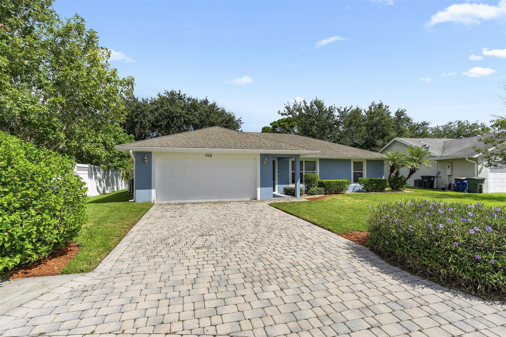 706 Osceola Avenue, Fort Pierce, FL 34982 - #: RX-10746393