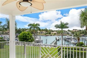Photo of 424 Bay Colony N Drive #With Boat Slip, Juno Beach, FL 33408 (MLS # RX-10471394)