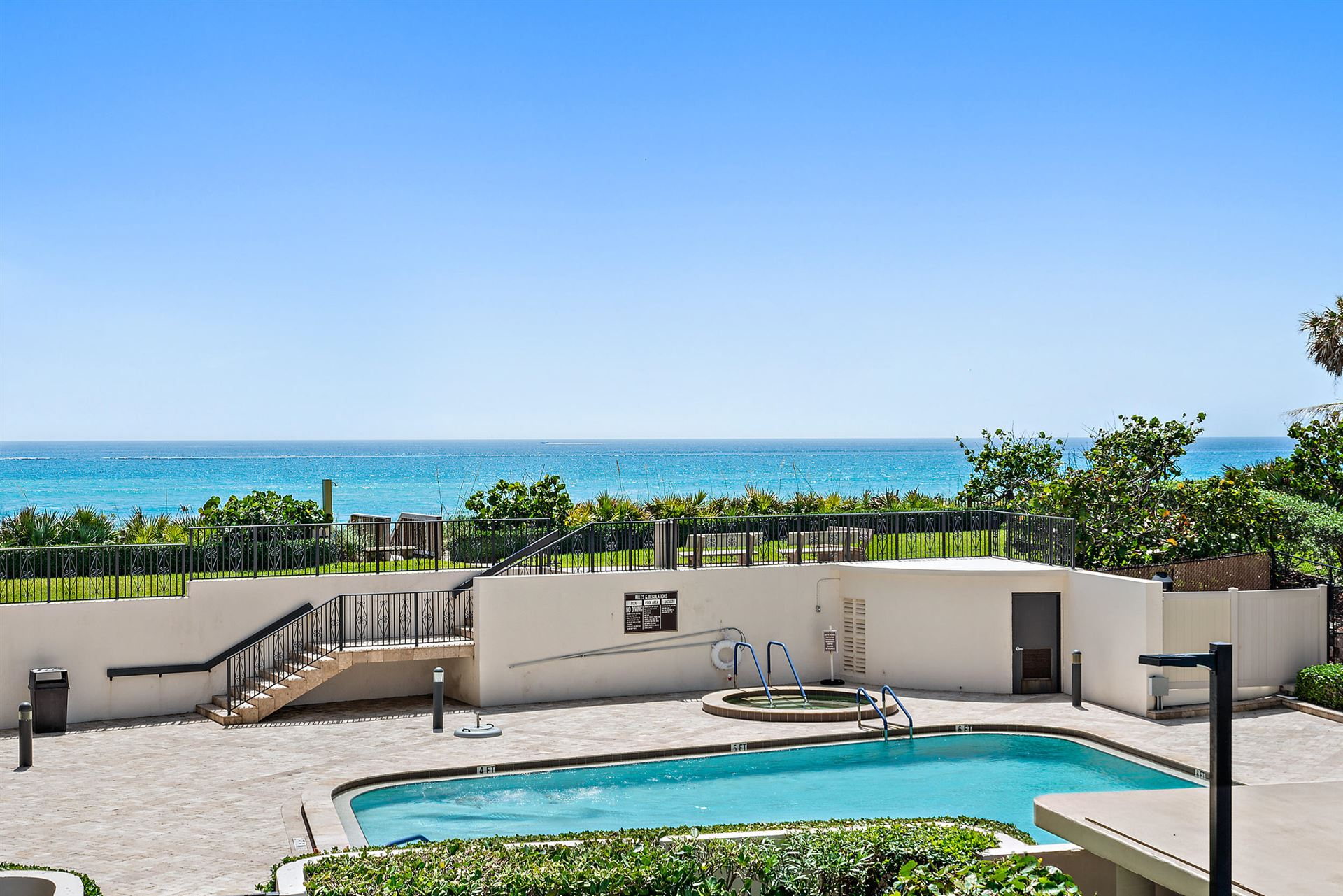 Photo of 5380 N Ocean Drive #2-B, Riviera Beach, FL 33404 (MLS # RX-10625395)
