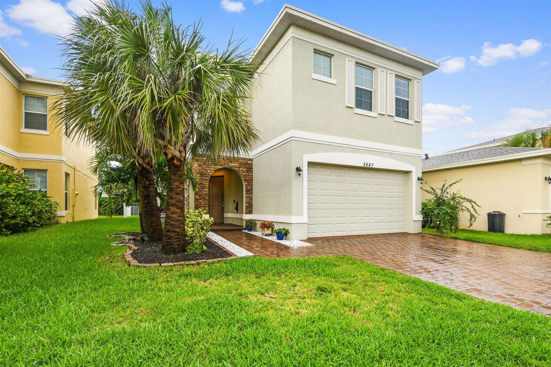 2447 NW Padova Street, Port Saint Lucie, FL 34986 - #: RX-10632395