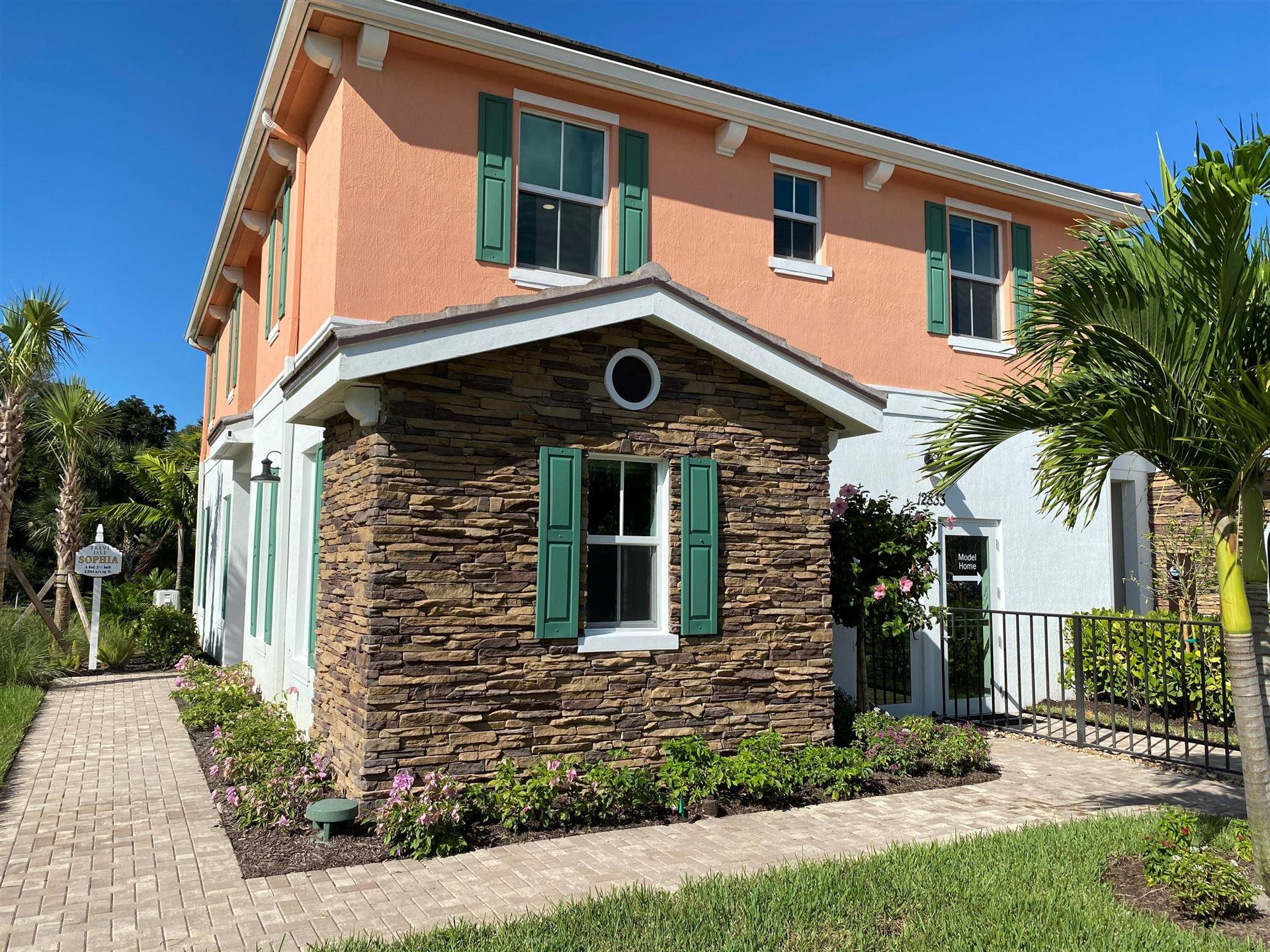 12833 Trevi Isle Drive #12, Palm Beach Gardens, FL 33418 - #: RX-10688395