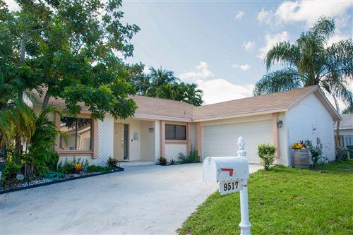 Photo of 9517 Tropical Park Place, Boca Raton, FL 33428 (MLS # RX-10624399)