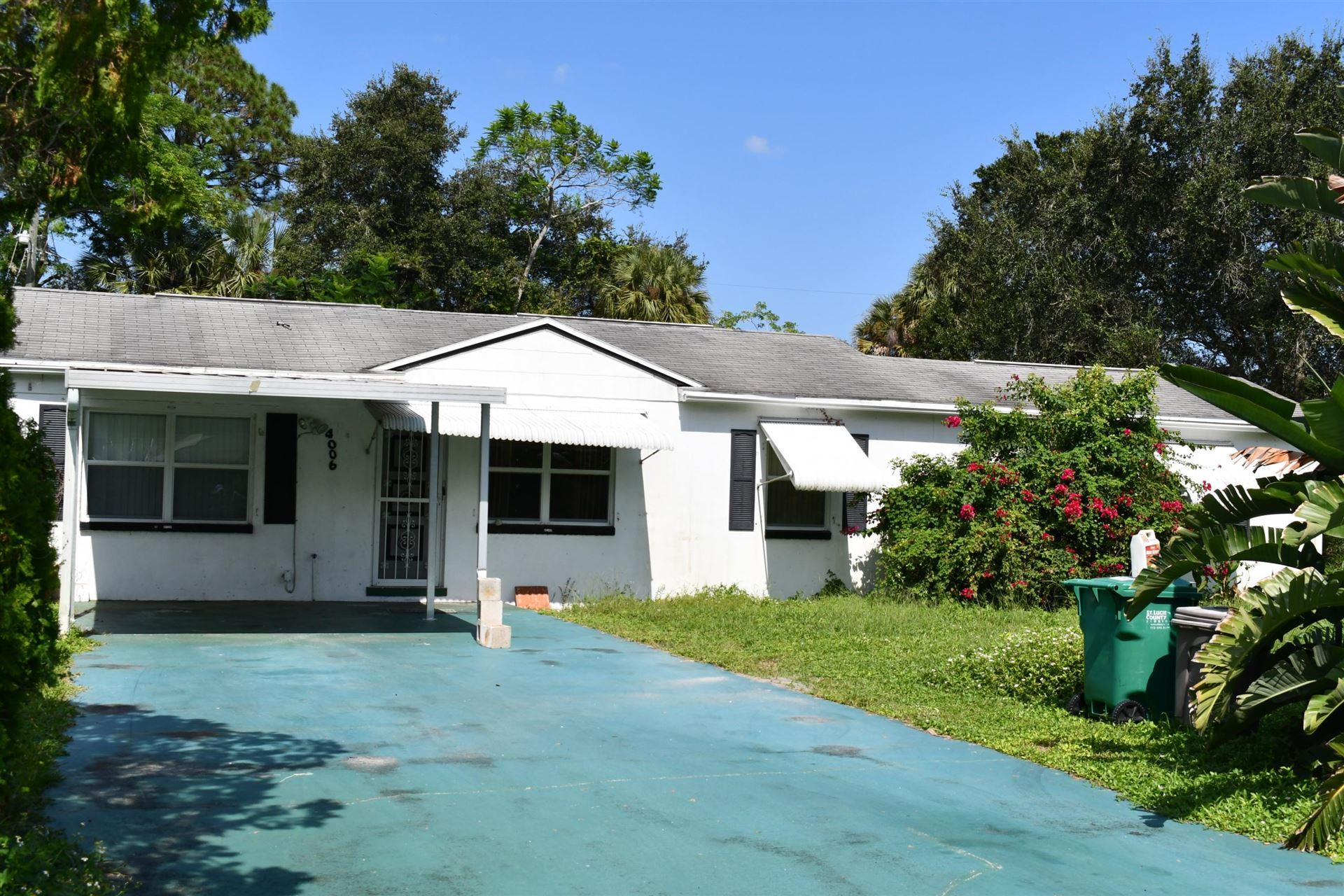 4006 Avenue O, Fort Pierce, FL 34947 - #: RX-10674400