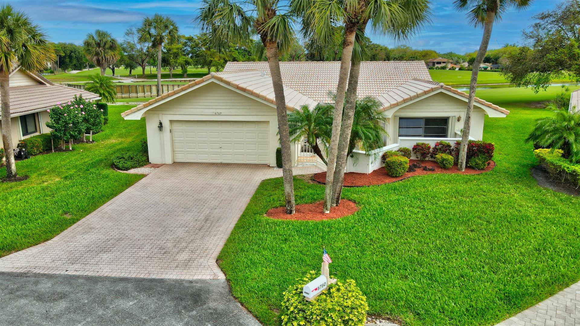 6769 Villas Drive E, Boca Raton, FL 33433 - #: RX-10696400