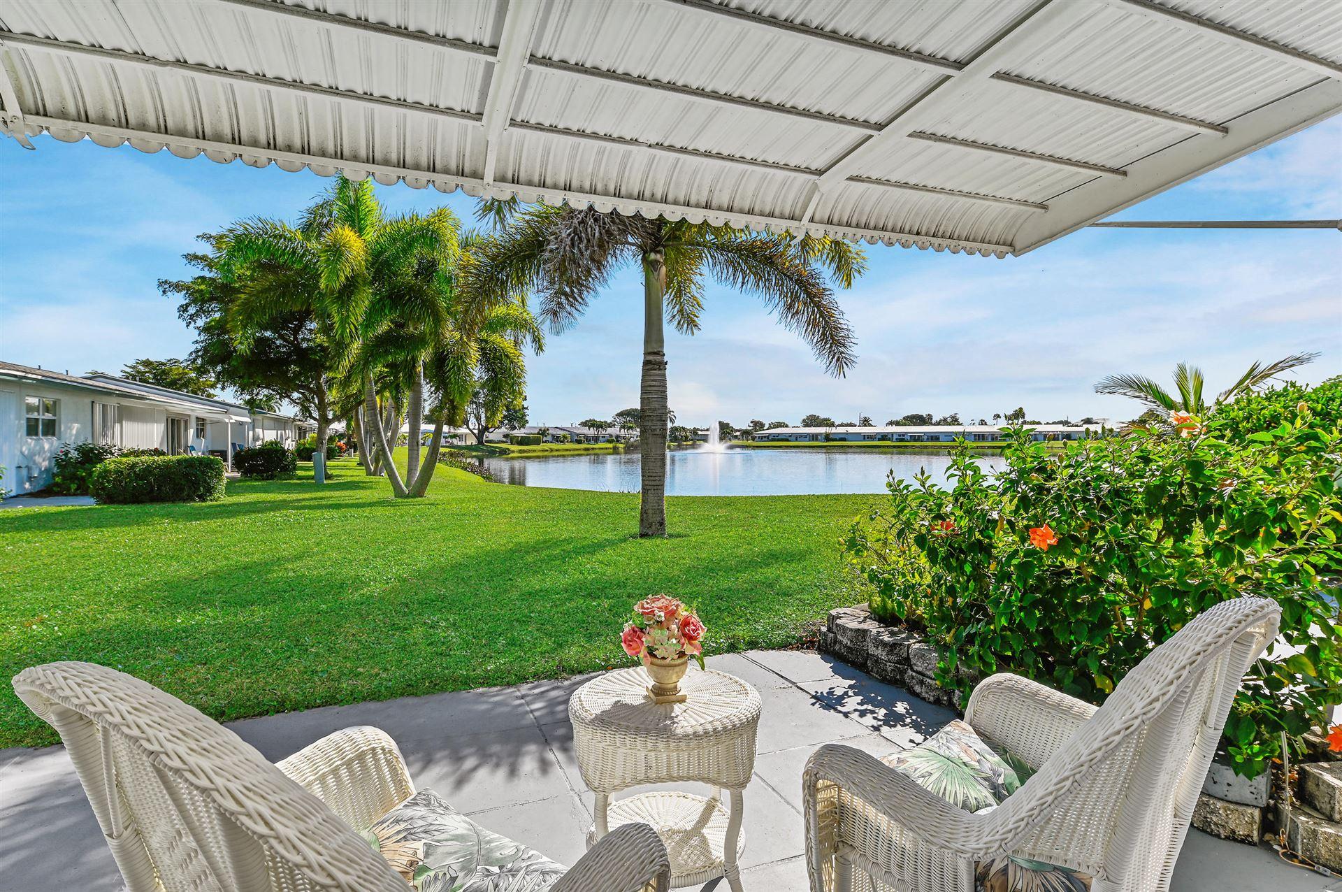 2100 SW Lake Circle Drive #102, Boynton Beach, FL 33426 - #: RX-10683401