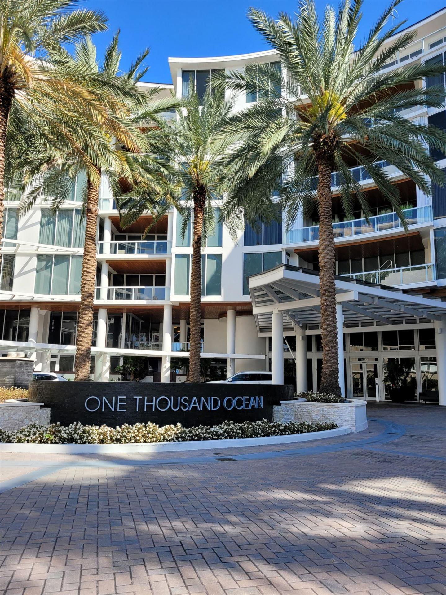 1000 S Ocean Boulevard #303, Boca Raton, FL 33432 - MLS#: RX-10702402