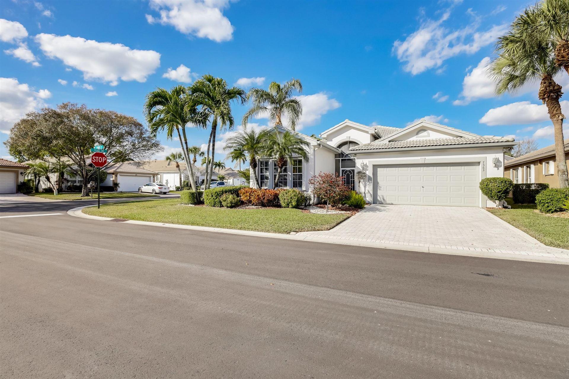 7563 Sagunto Street, Boynton Beach, FL 33437 - #: RX-10685404