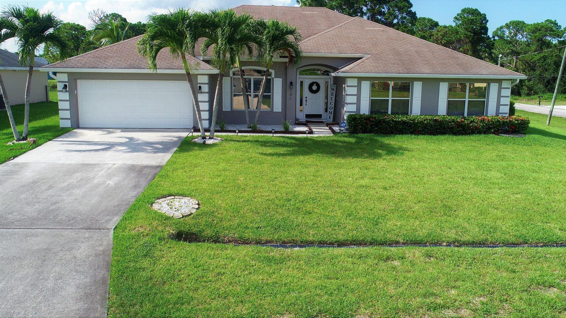 131 SW Andover Court, Port Saint Lucie, FL 34953 - #: RX-10635405