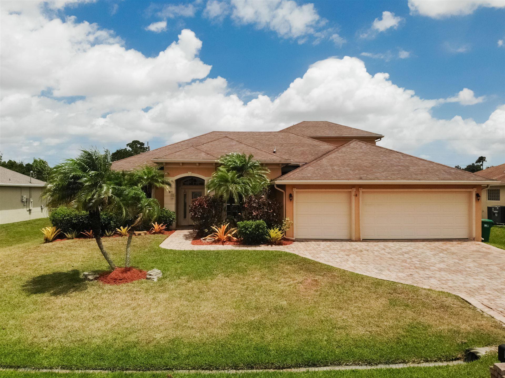 1425 SW Oriole Lane, Port Saint Lucie, FL 34953 - #: RX-10718406