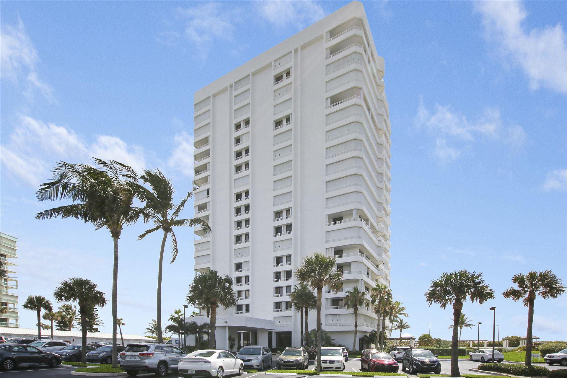 Photo of 9950 S Ocean Drive #301, Jensen Beach, FL 34957 (MLS # RX-10723407)