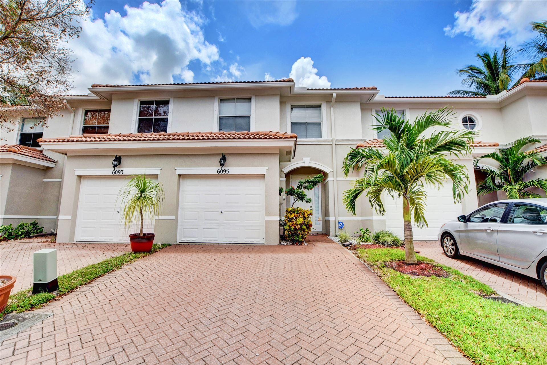 6095 Seminole Gardens Circle, Riviera Beach, FL 33418 - #: RX-10643408