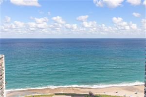 Photo of Listing MLS rx in 4100 N Ocean Drive #2301 Singer Island FL 33404