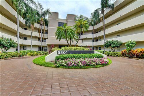Photo of 5801 Camino Del Sol #302, Boca Raton, FL 33433 (MLS # RX-10753410)