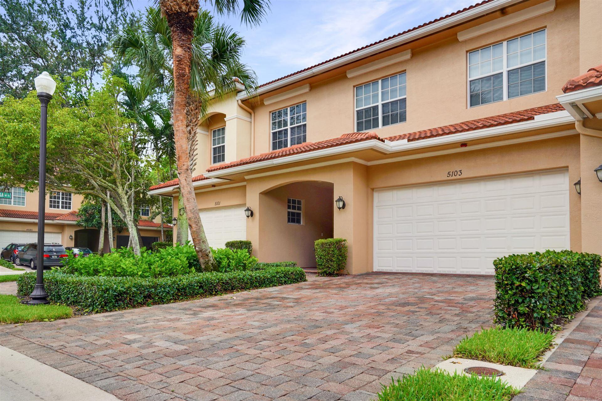 5103 Artesa Way W, Palm Beach Gardens, FL 33418 - #: RX-10744410