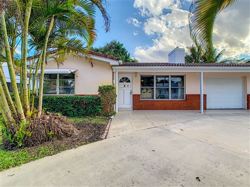 Photo of 2 Hersey Drive N #4, Ocean Ridge, FL 33435 (MLS # RX-10595411)