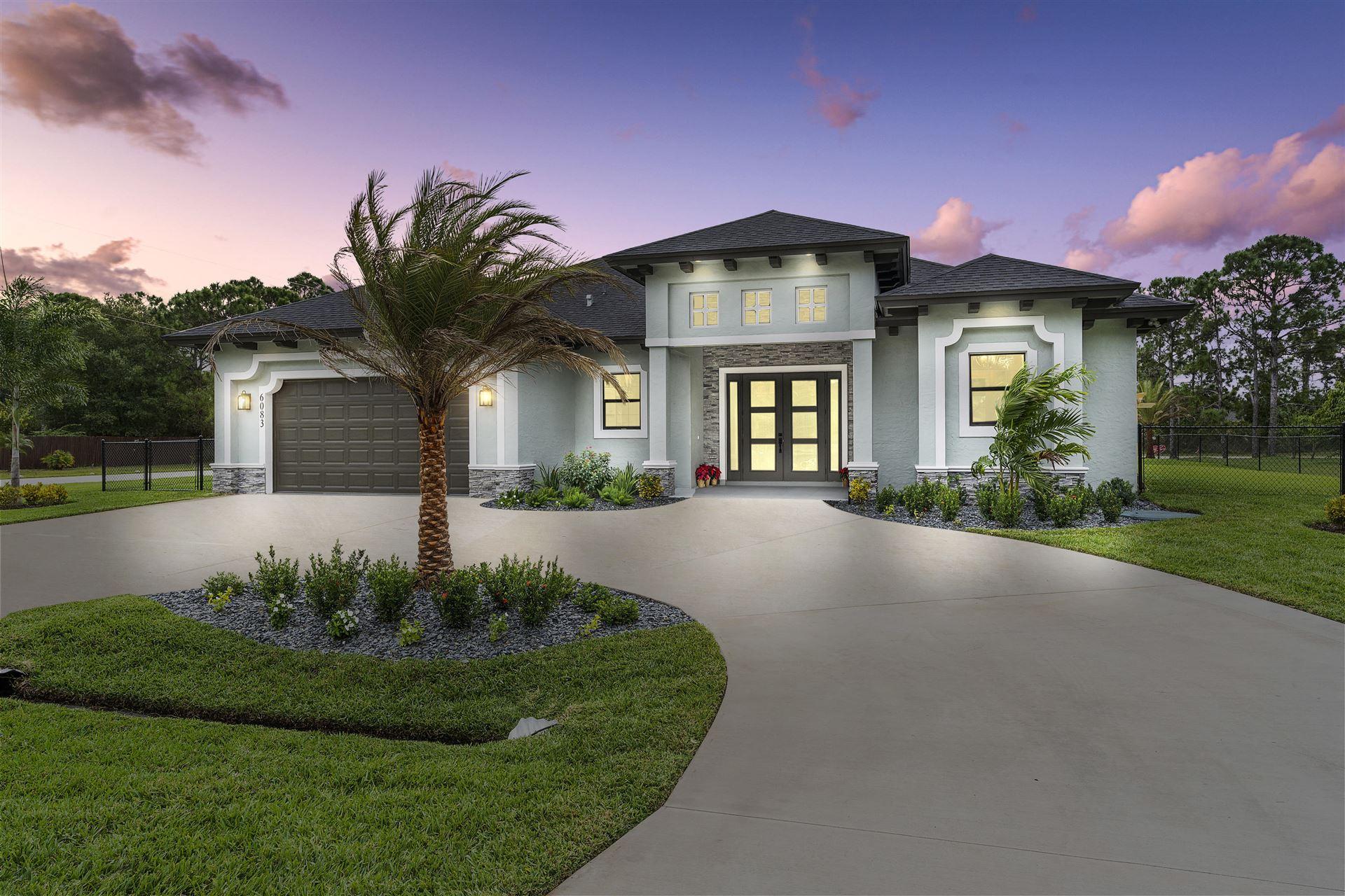 6083 NW East Deville Circle, Port Saint Lucie, FL 34986 - #: RX-10639411