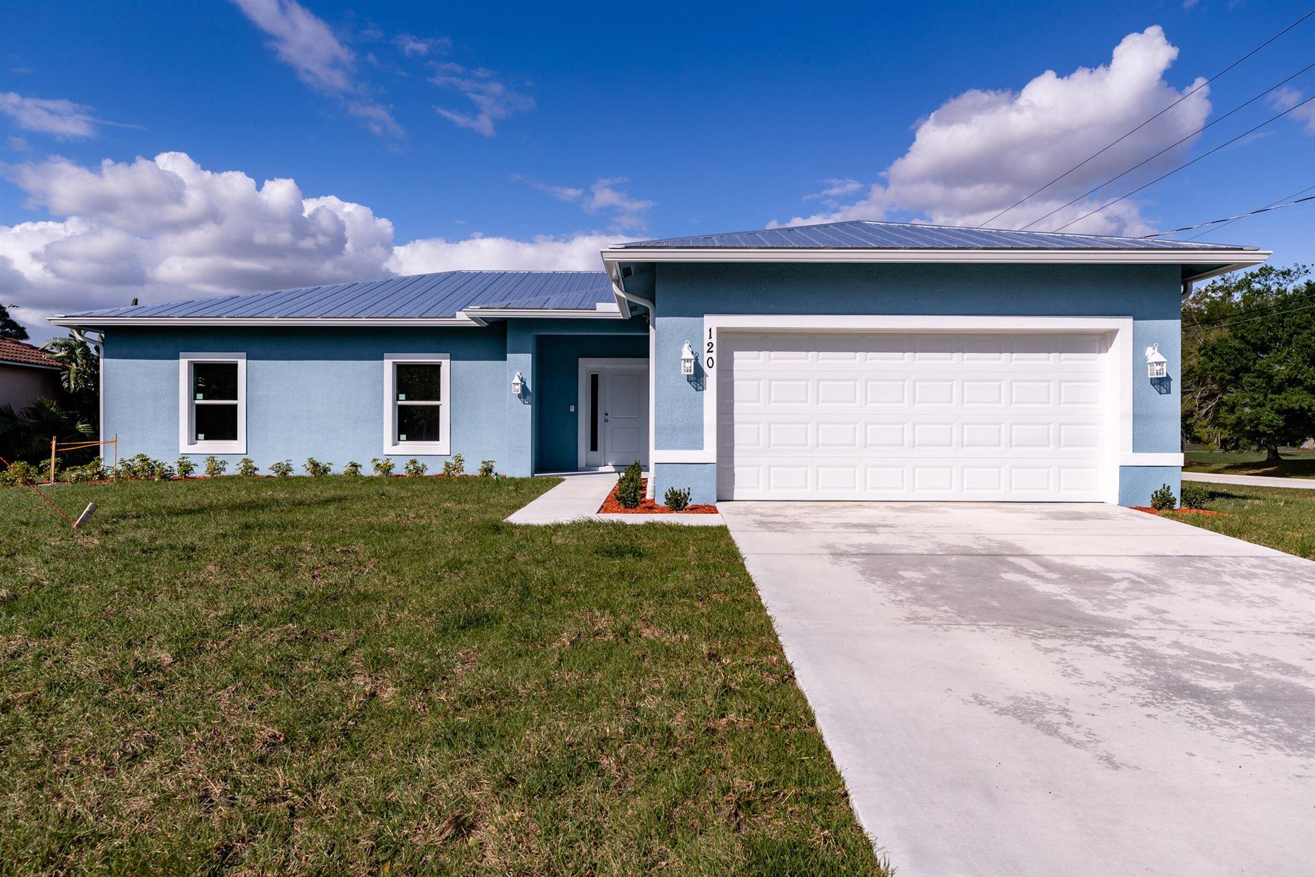120 SW Klee Circle, Port Saint Lucie, FL 34953 - #: RX-10698411
