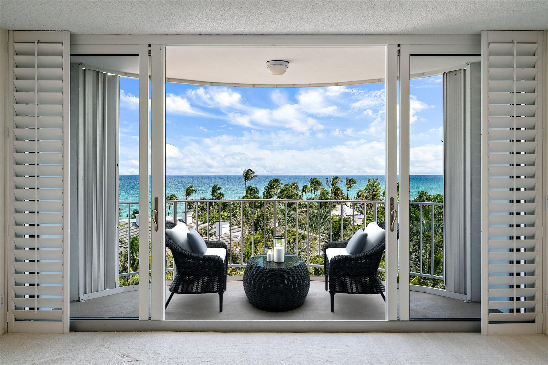 2295 S Ocean Boulevard #808, Palm Beach, FL 33480 - #: RX-10655412