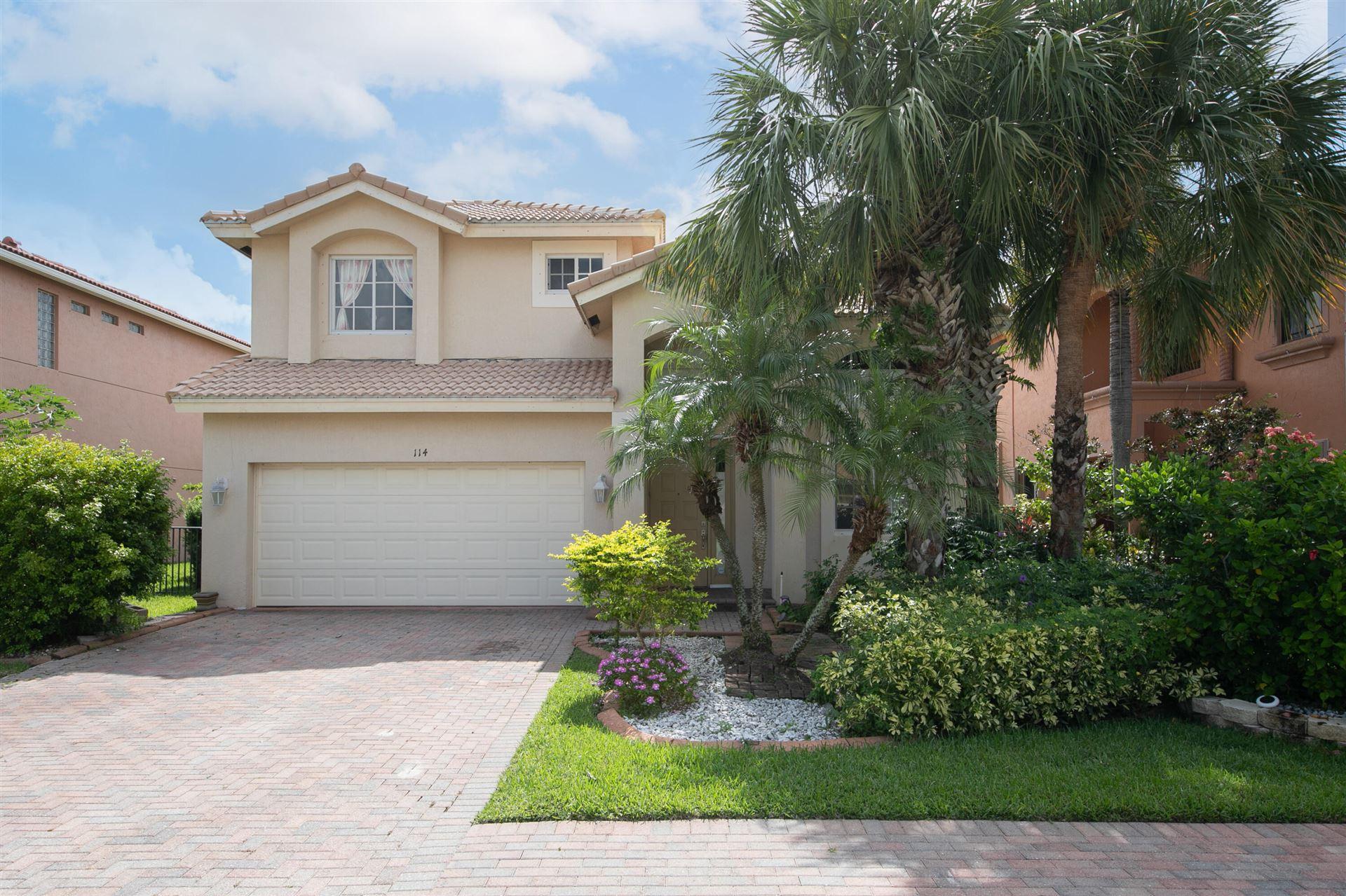 114 Sarona Circle, Royal Palm Beach, FL 33411 - #: RX-10732413