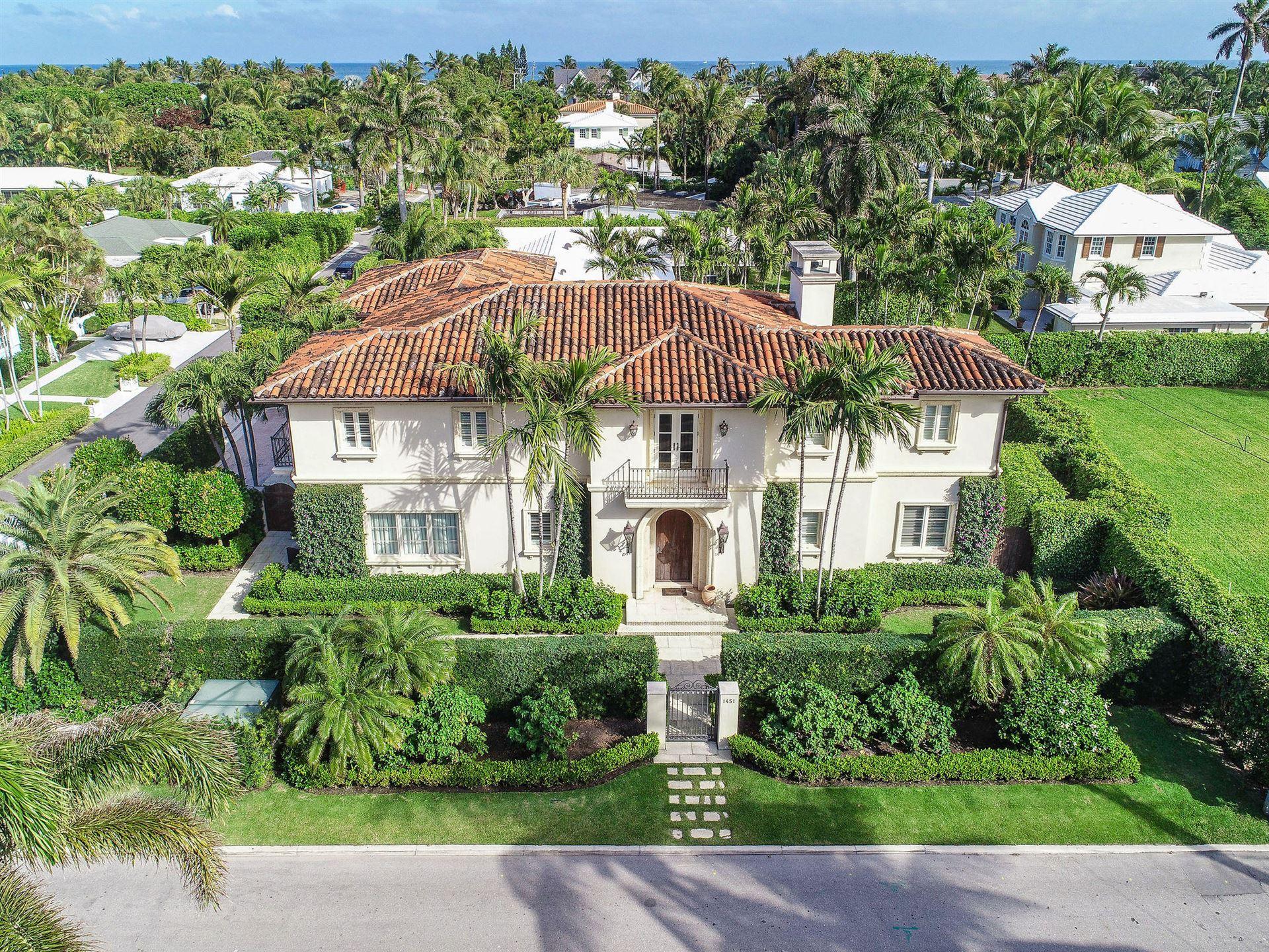1451 N Lake Way, Palm Beach, FL 33480 - #: RX-10628414
