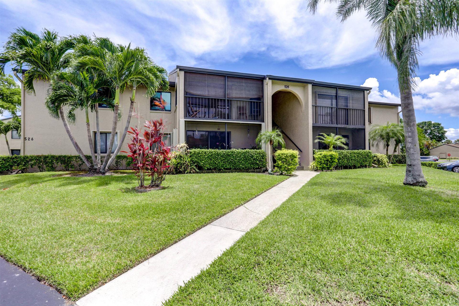 526 Shady Pine Way #D2, Greenacres, FL 33415 - MLS#: RX-10715415