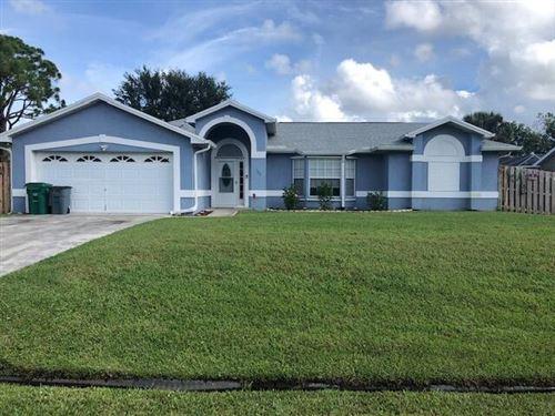 Photo of 165 SW Eyerly Avenue, Port Saint Lucie, FL 34983 (MLS # RX-10748416)