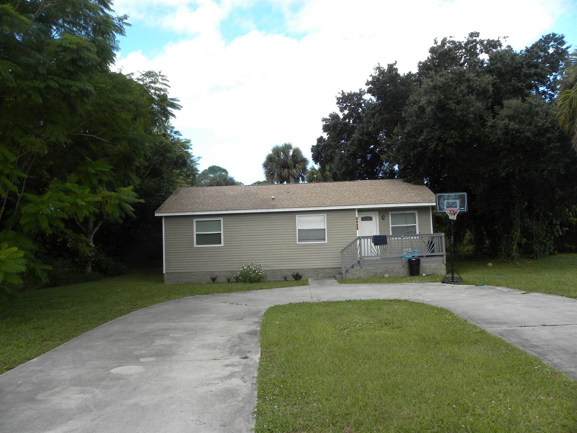 2405 N 44th Street, Fort Pierce, FL 34946 - MLS#: RX-10752416
