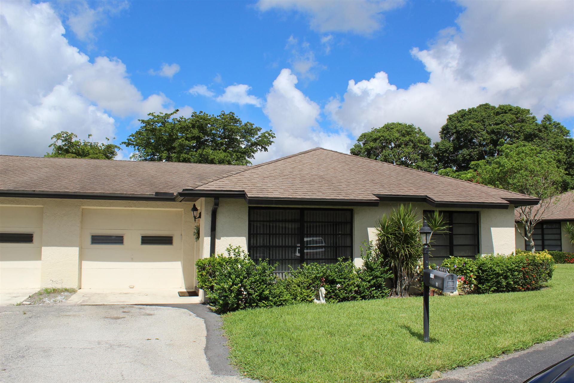4641 Finchwood Way #B, Boynton Beach, FL 33436 - MLS#: RX-10728417