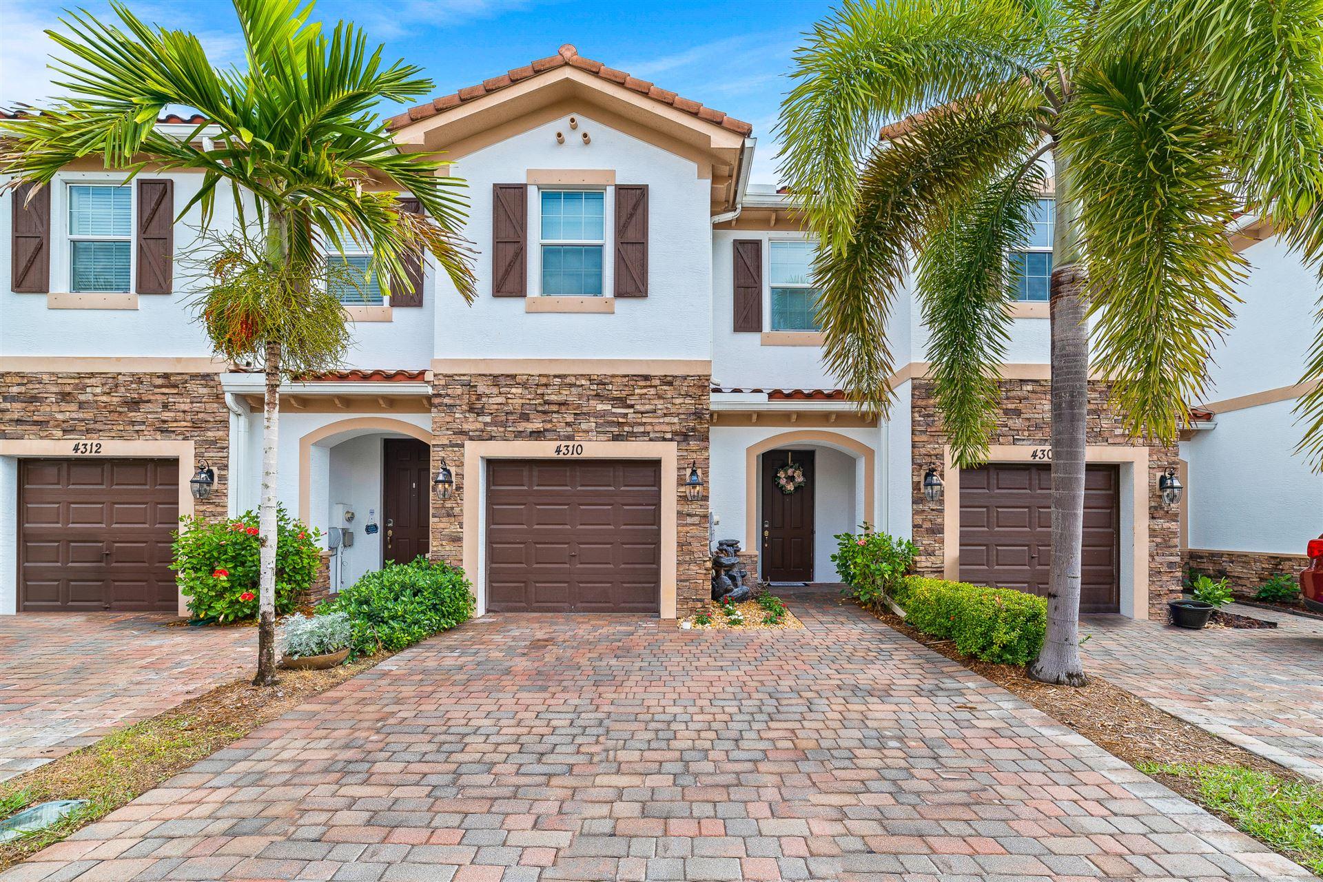 4310 Brewster Lane #., West Palm Beach, FL 33417 - #: RX-10694418
