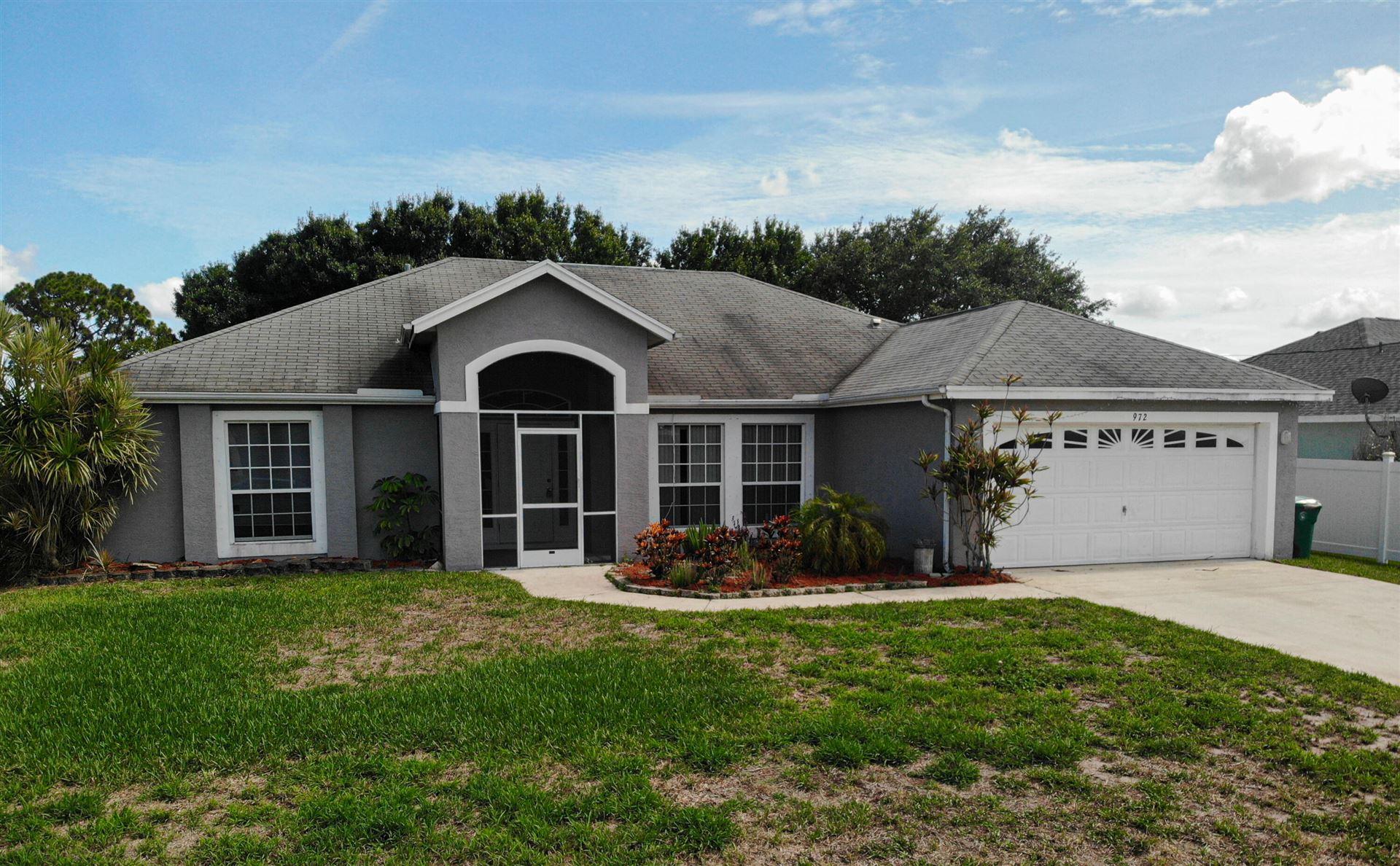 972 SW Bellevue Avenue, Port Saint Lucie, FL 34953 - MLS#: RX-10722420