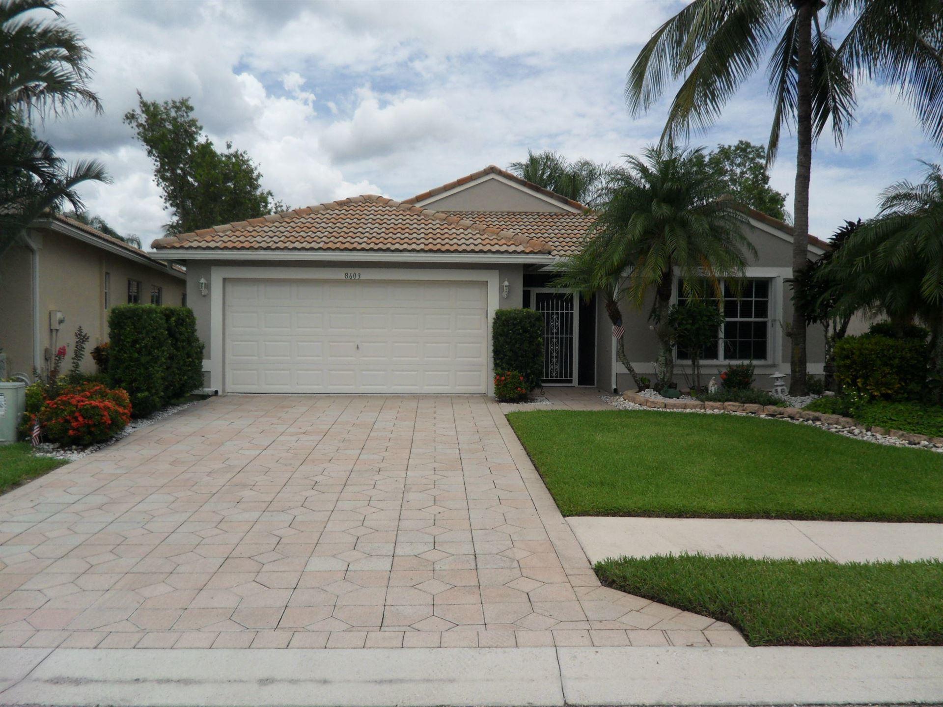 8603 San Andros, West Palm Beach, FL 33411 - #: RX-10633422
