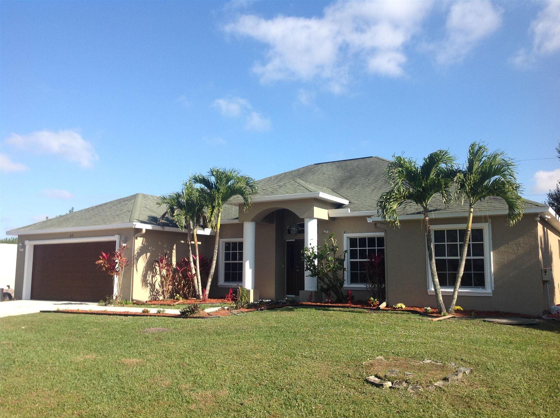610 SW Millard Drive, Port Saint Lucie, FL 34953 - #: RX-10667422
