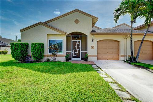 Photo of 9845 Boca Gardens Circle N #A, Boca Raton, FL 33496 (MLS # RX-10634423)