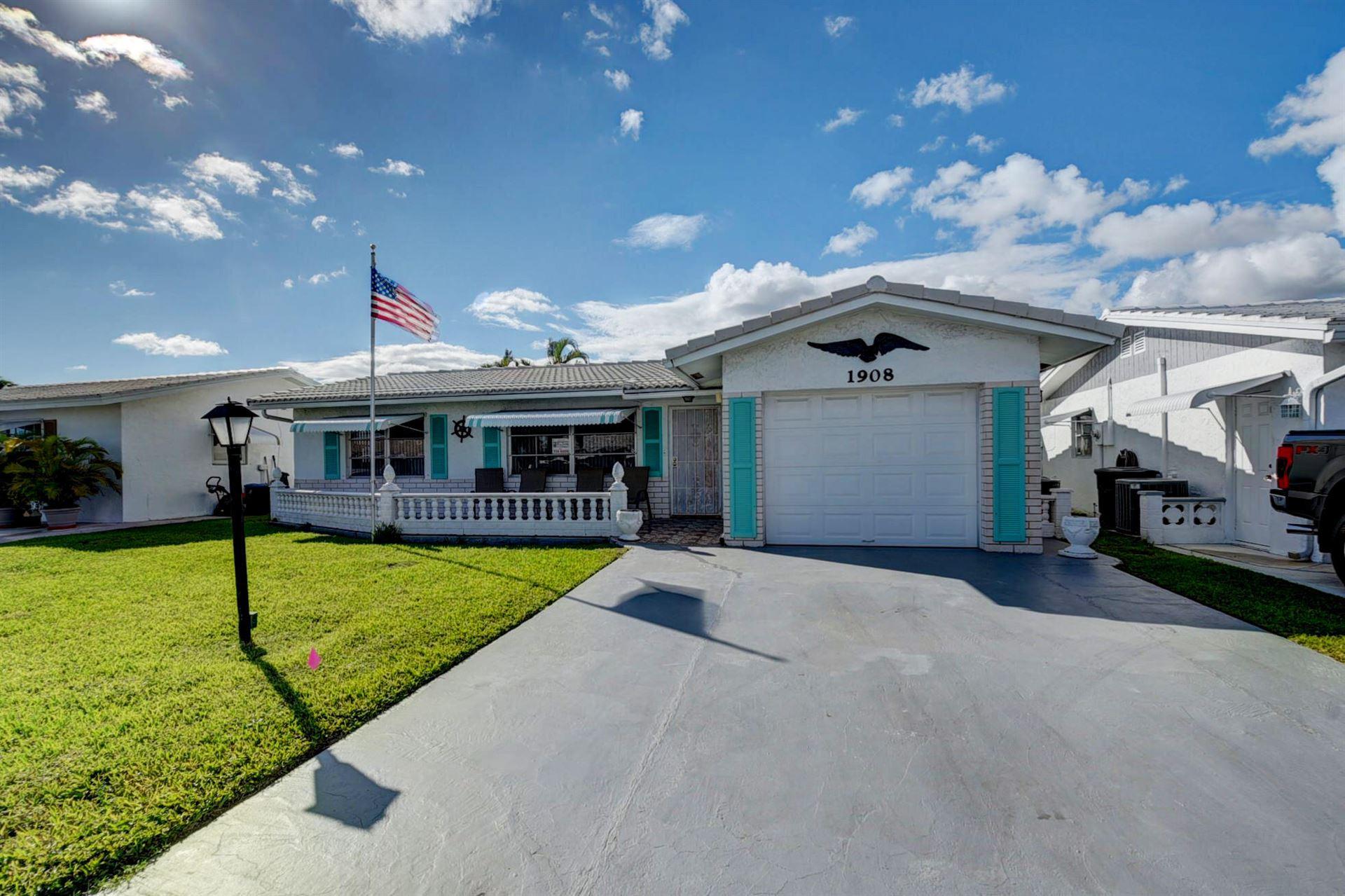 1908 SW 20th Circle, Boynton Beach, FL 33426 - #: RX-10751425