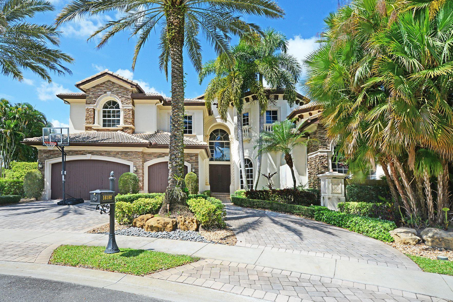 16187 Andalucia Lane, Delray Beach, FL 33446 - #: RX-10611427