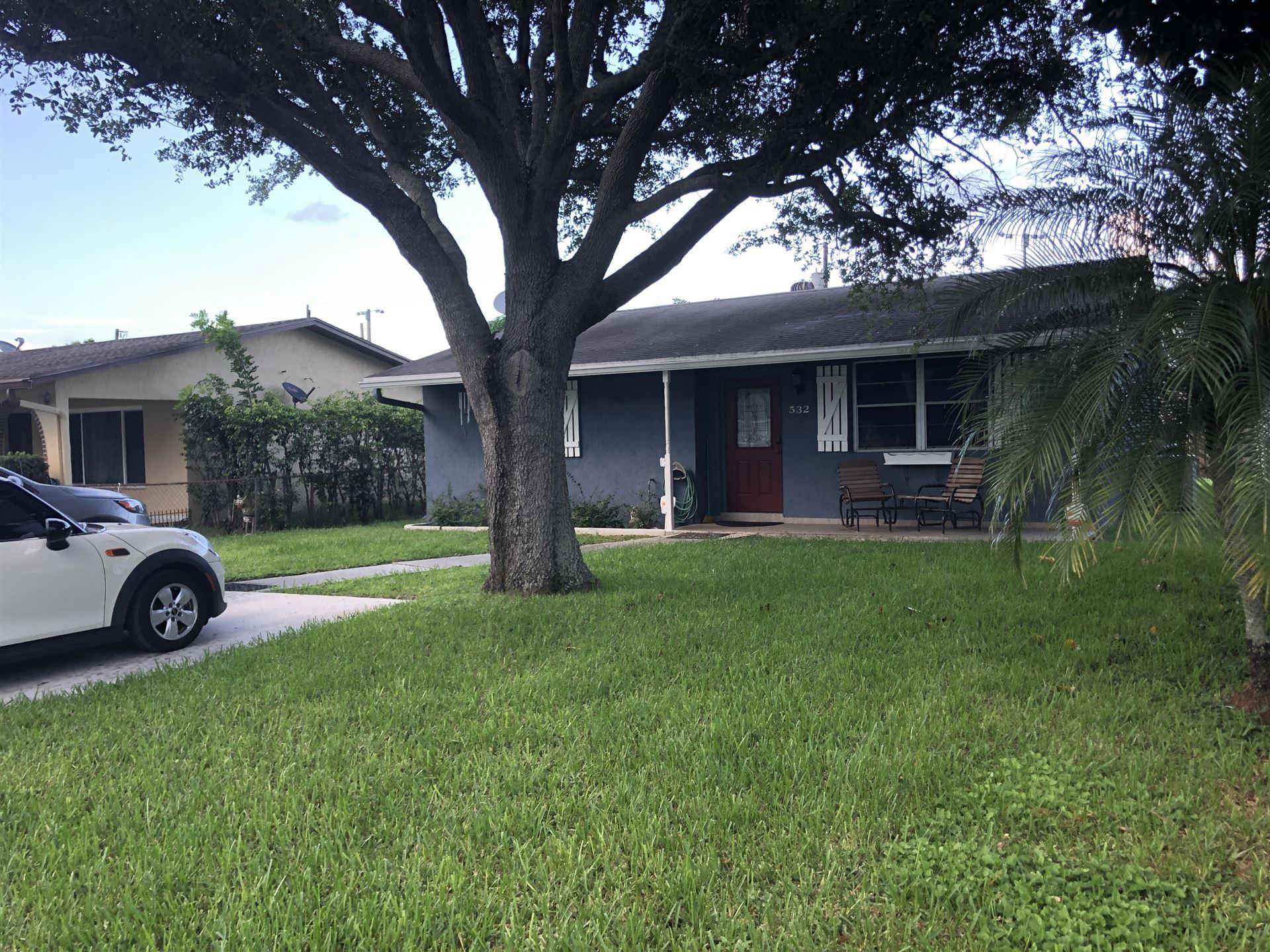 532 Jennings Avenue, Greenacres, FL 33463 - MLS#: RX-10733427