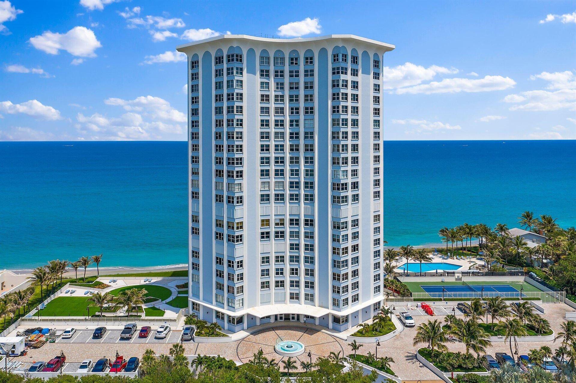 Photo of 5200 N Ocean Drive #1206, Riviera Beach, FL 33404 (MLS # RX-10715428)