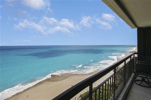 Photo of 4000 N Ocean Drive #1501, Singer Island, FL 33404 (MLS # RX-10705429)