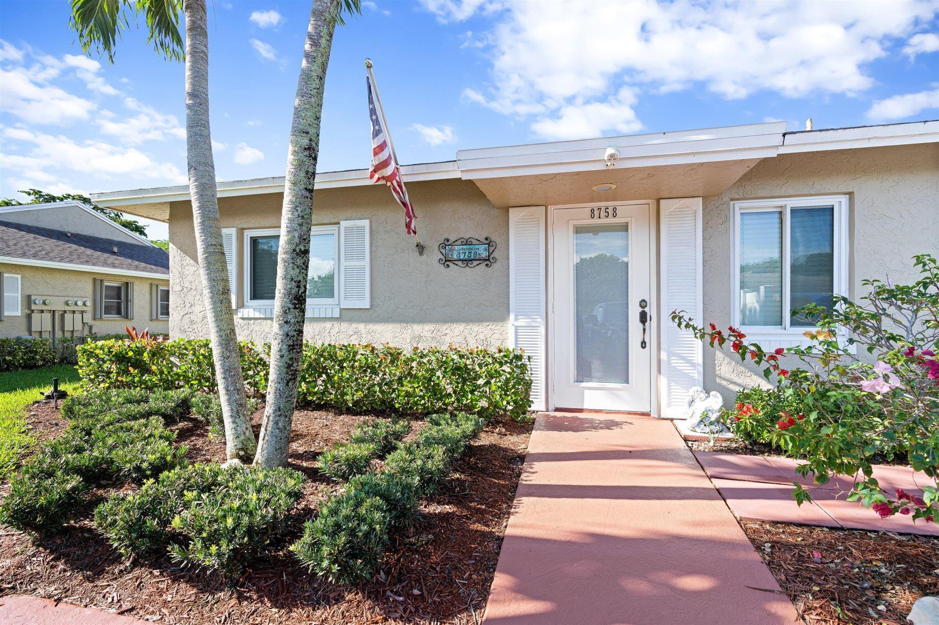8758 Windrow Way #A, Boca Raton, FL 33496 - MLS#: RX-10751429