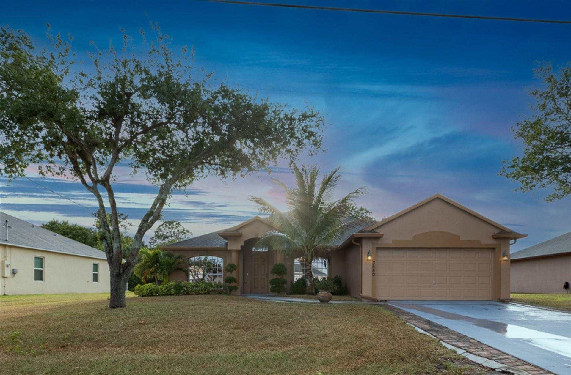 3550 SW Rosardo Street, Port Saint Lucie, FL 34953 - #: RX-10704430