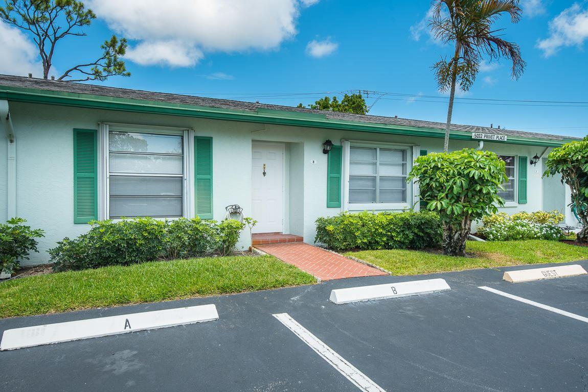 5032 Privet Place #B, Delray Beach, FL 33484 - MLS#: RX-10731430