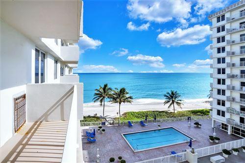 Photo of 3215 S Ocean Boulevard #507, Highland Beach, FL 33487 (MLS # RX-10674431)